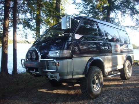 Bf Goodrich All Terrain >> 1994 Mitsubishi Delica Starwagon Chamonix L300, P35 diesel 4x4; the walking, talking tour - YouTube