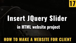 Use JQuery  slider in HTML website - How to make a website in Hindi / Urdu