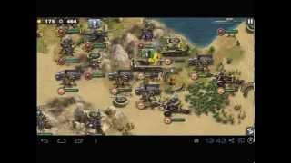 Glory of Generals - El Alamein (allies) Walktrough