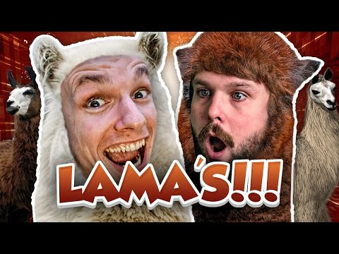LAMA'S!! - Minecraft Survival #110