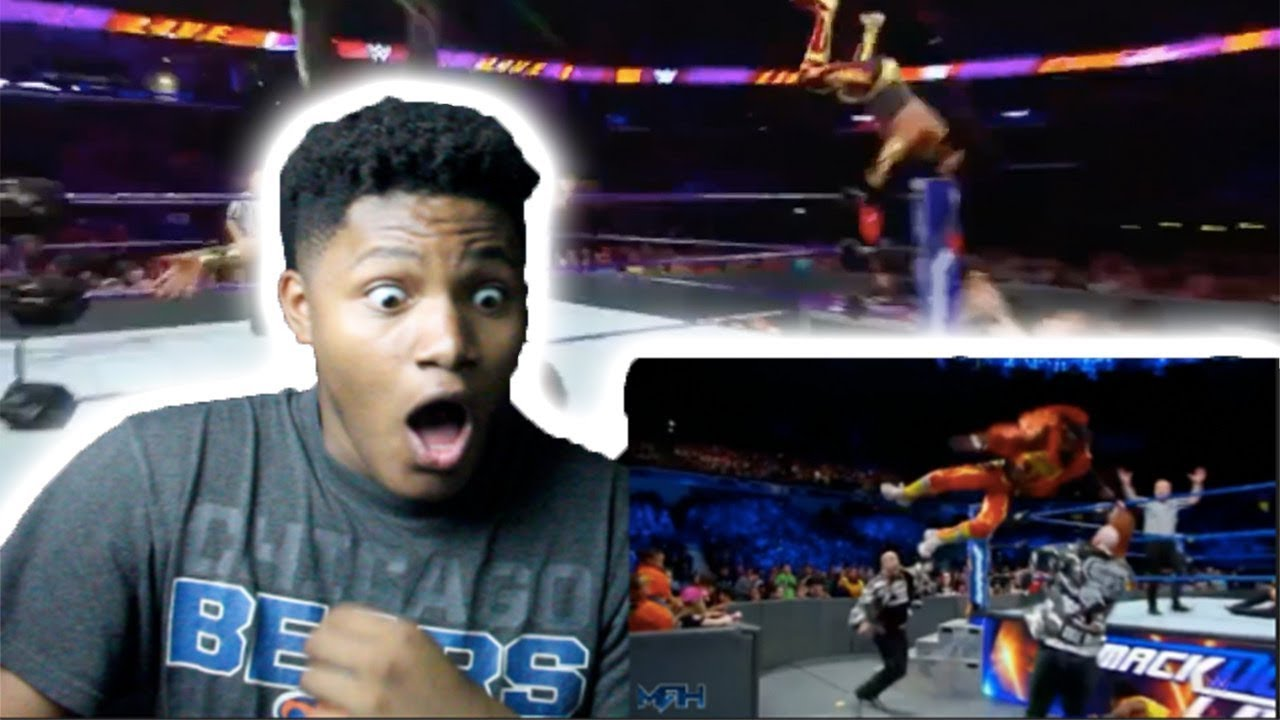 SO MUCH HIGH FLYING!!| WWE 100 OMG Moments 2018 Part 2| REACTION