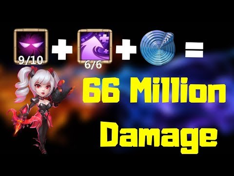 Dove Keeper Dealing 66 Million Damage | Hyper Strength | Castle Clash