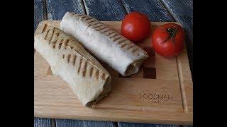 Домашняя шаурма с курицей в панировке: рецепт от Foodman.club