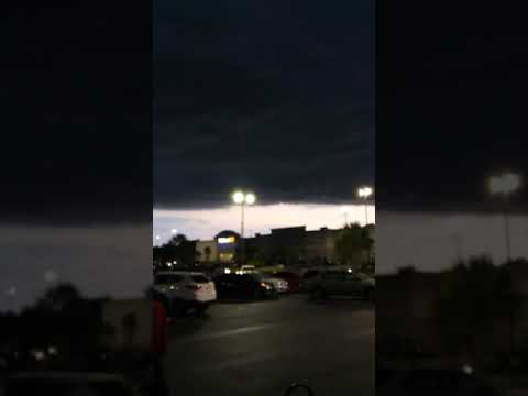 Scary Perfect Storm Weather in Pensacola Florida!
