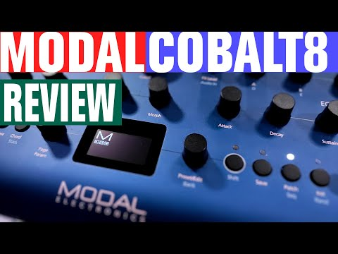 Cobalt8  - 8 Voice Synthesizer  - Full Sonic LAB Review
