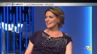 """Otto e mezzo - La corruzione """"spuzza"""" (Puntata 26/03/2015)"""