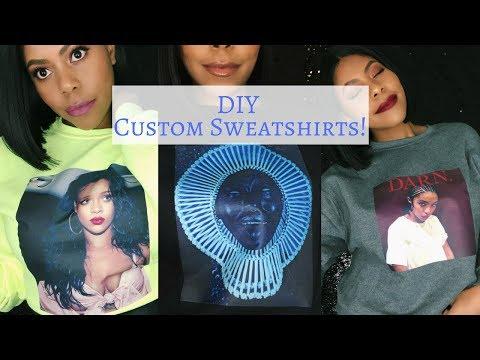 DIY: How to Make Dope Shirts Using Transfer Paper| Sharatia Banks