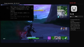Fortnite's Live-playing solo with the Prisoner skin