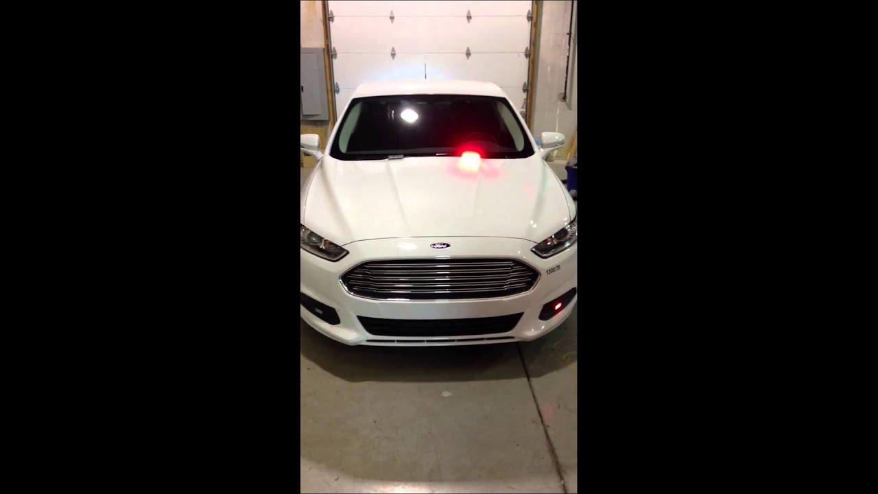 2017 Ford Fusion Warning Lights