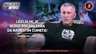 INTERVJU: Nebojša Tubić Žabac - Legija mi je nudio 500.000 evra da namestim Čumeta! (17.11.2018)