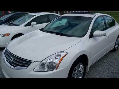 2012 White Nissan Altima Sl Youtube