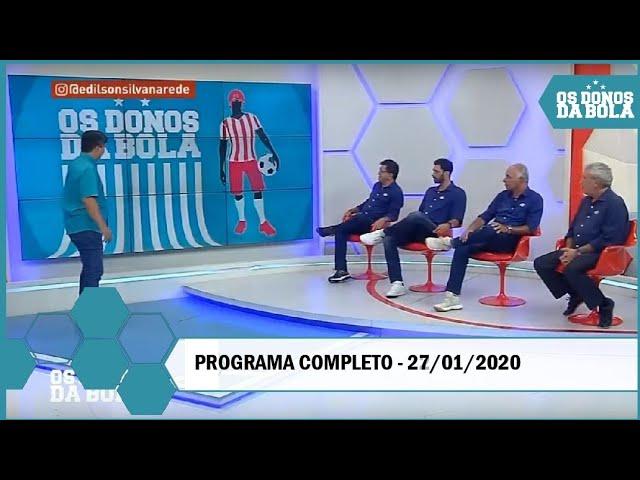 Os Donos da Bola Rio 27-01-20 - AO VIVO