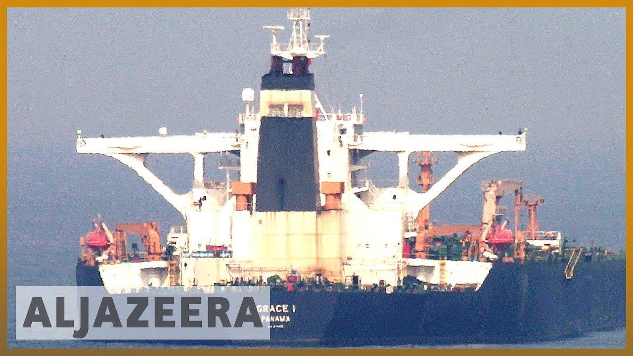 AlJazeera English:Gibraltar court releases seized Iranian oil tanker