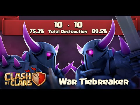 Clash of Clans - New Update! Clan War Tiebreaker (Sneak Peek)