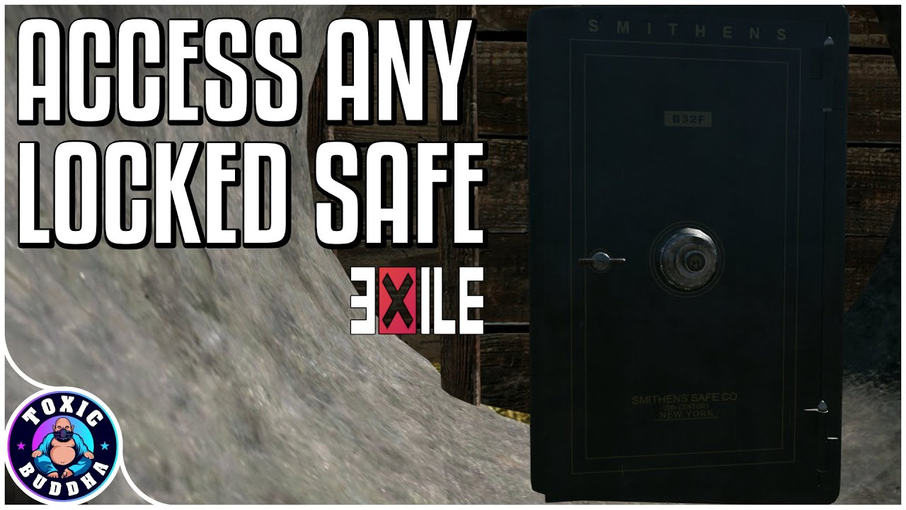 ACCESS ANY LOCKED SAFE - Arma 3 - Exile