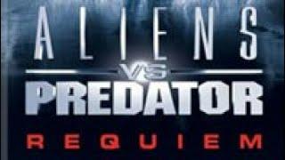 Aliens vs predator réquiem #01 chegamos na terra mas não estamos sós.