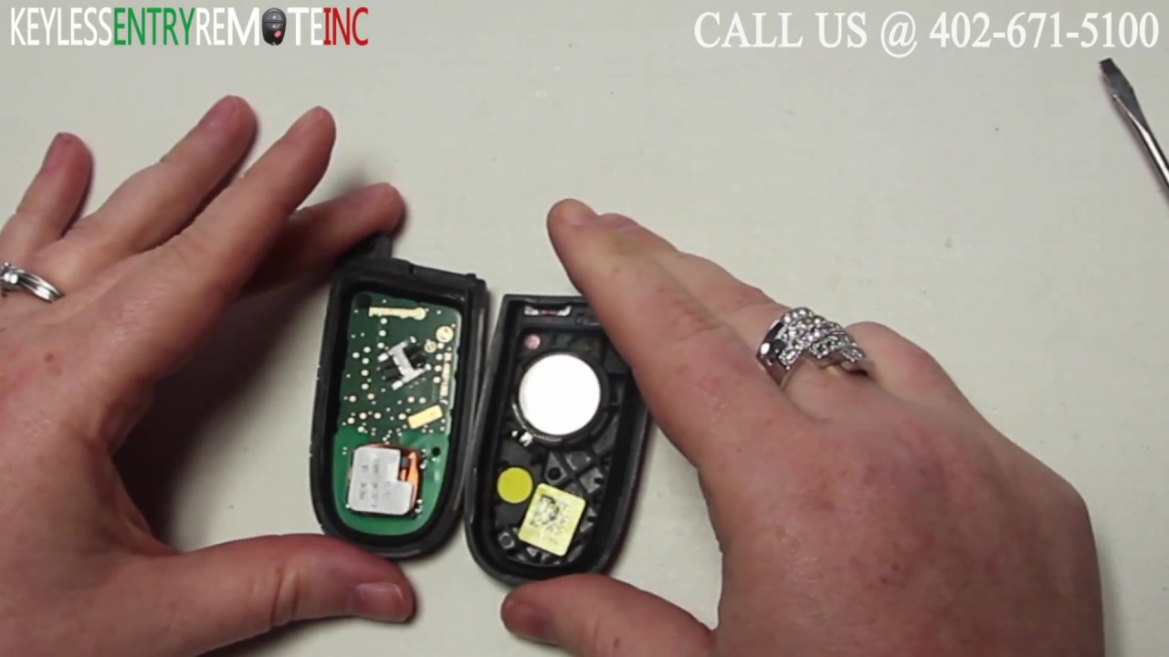 How To Replace Dodge Journey Key Fob Battery 2017