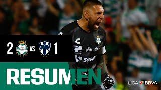 embeded bvideo Resumen | Santos Laguna 2 - 1 Monterrey | Liga MX - Apertura 2019  - Jornada 6