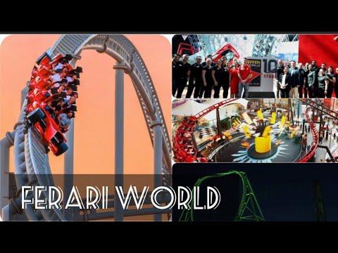 Tour of Ferrari World with Family 2020 || FAMILY TOUR || || ABU DHABI || 🌋🌍