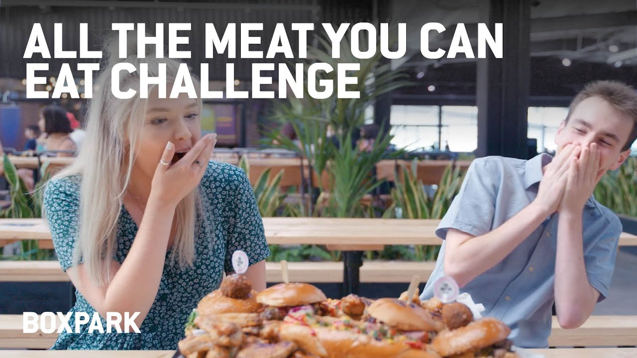All The Meat You Can Eat Challenge | Eat Out Out - YouTube