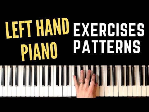 10 Exercises For Strengthening and Improving Your Left Hand - Jazz Piano Technique Training