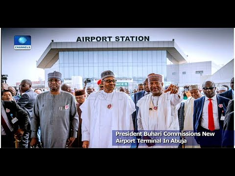 Buhari Commissions New Airport Terminal In Abuja Pt.2 20/12/18 |News@10|