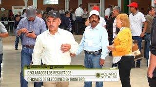 Declarados los resultados oficiales de elecciones en Rionegro
