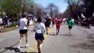 The 2008 Boston Marathon--Heartbreak Hill