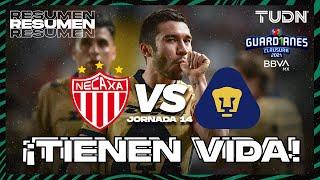 Resumen y goles | Necaxa vs Pumas | Torneo Guard1anes 2021 BBVA MX - J14 | TUDN