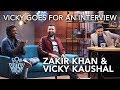 vicky kaushal goes for an interview son of abish