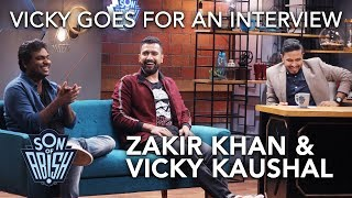 Vicky Kaushal Goes For An Interview | Son Of Abish