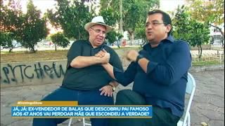 Marcelo conta como foi seu primeiro encontro com o pai, Agildo Ribeiro