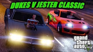 GTA V| Dukes v Jester Classic Street Race (Fast and Furious Style- Cinematic)