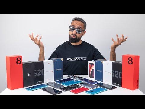 Top 5 BEST Smartphones of 2020.... So Far