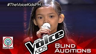 "The Voice Kids Philippines 2015 Blind Audition: ""Till I Met You"" by Zephanie"
