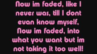 Cascada- Faded (Lyrics On Screen)