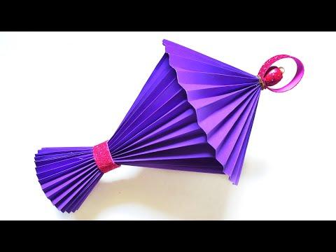 Paper Lantern Making For Diwali   Easy Diwali Decoration Ideas   By Punekar Sneha