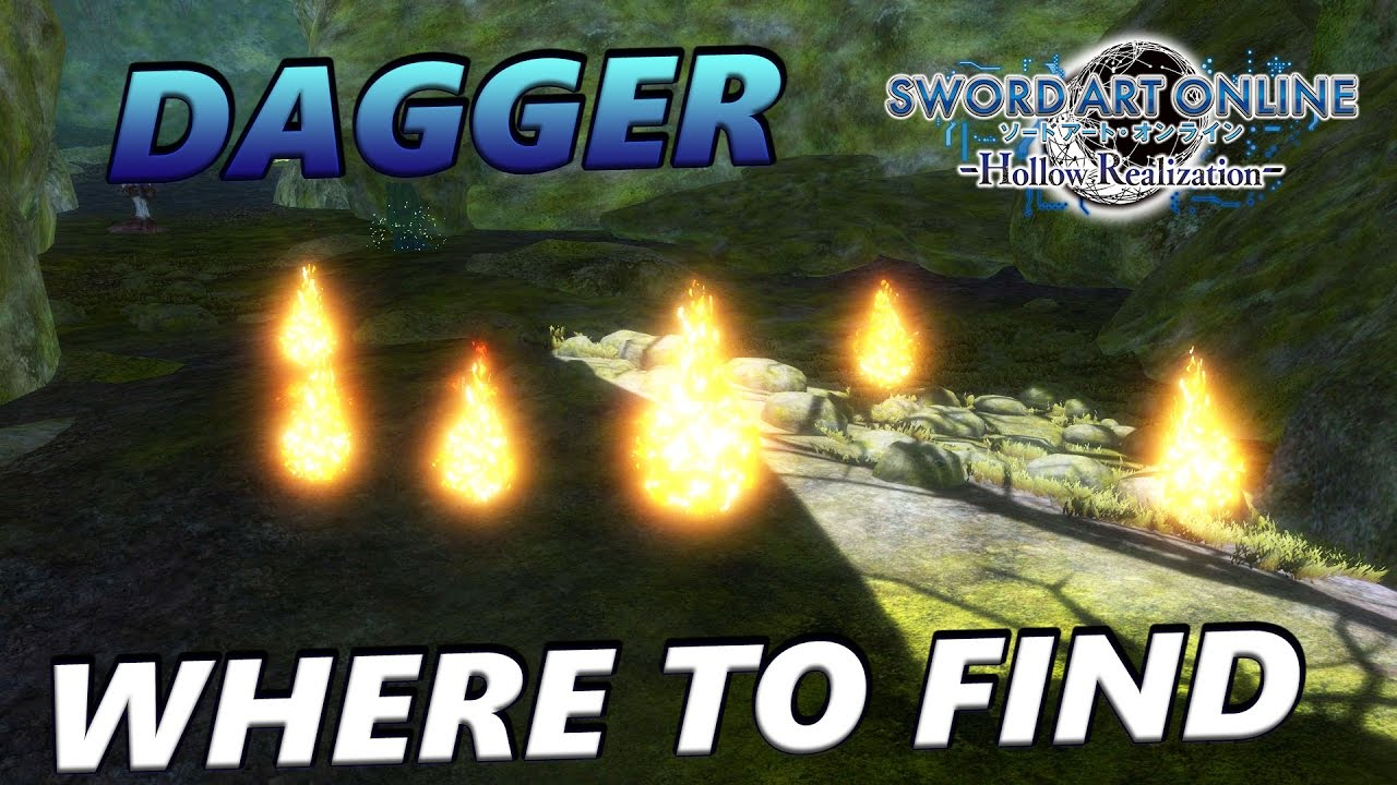 Sword Art Online: Hollow Realization - Where To Find: Chaos Destroyer,  Dagger (Green Tier Rarity)