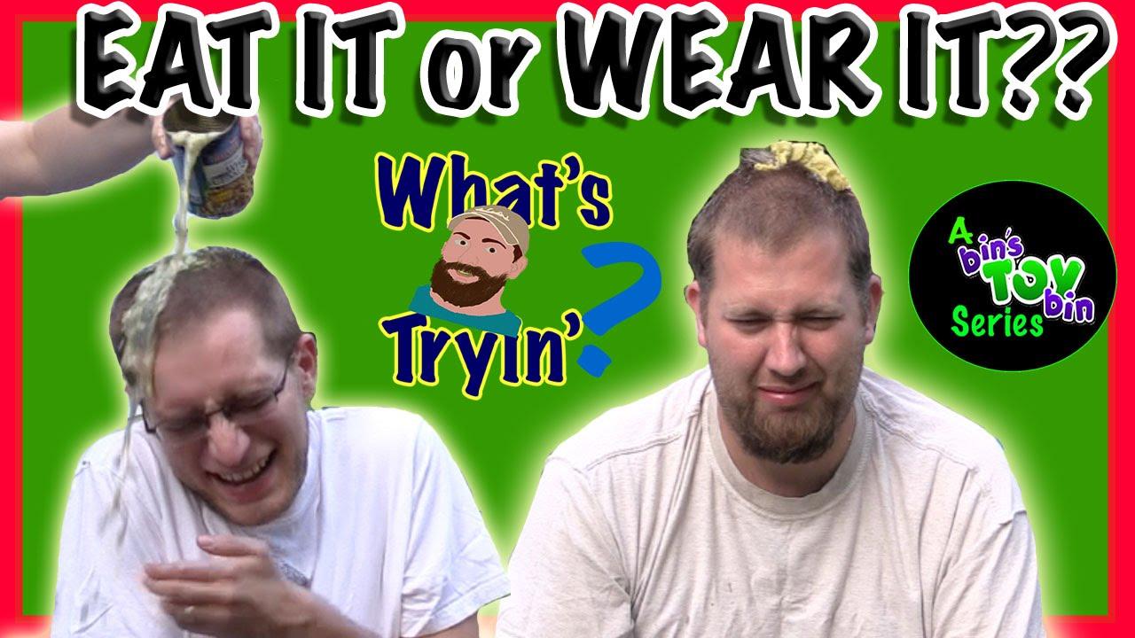 Eat It Or Wear It Challenge So Gross What S Ryan