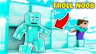 TROLL NOOB BẰNG KIM CƯƠNG (Minecraft Trốn Tìm)