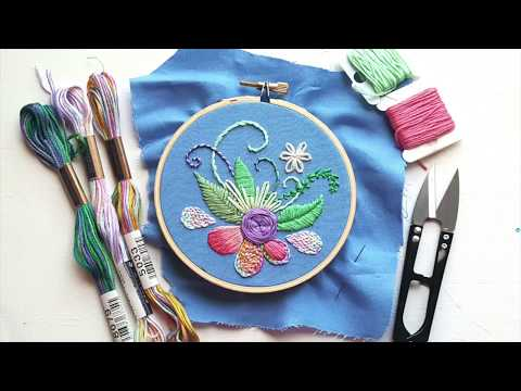 Top Modern Hand Embroidery Stitches (FAST VERSION)