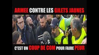 """[ Eric Drouet et Jerome Rodrigues  acte XIX ] """" l'armée vs gilets jaunes, c'est un coup de com"""""""