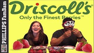 DANNY'S DRISCOLL'S STRAWBERRIES TASTE TEST | DRISCOLL'S BERRIES | PHILLIPS FamBam Live
