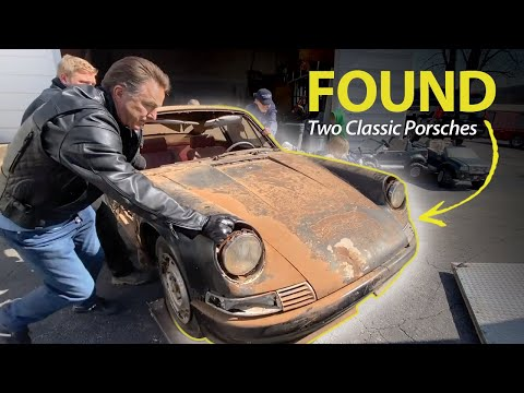FOUND: Two CLASSIC PORSCHES Sitting In St. Louis