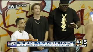 Phoenix teen inspiring others with rap single
