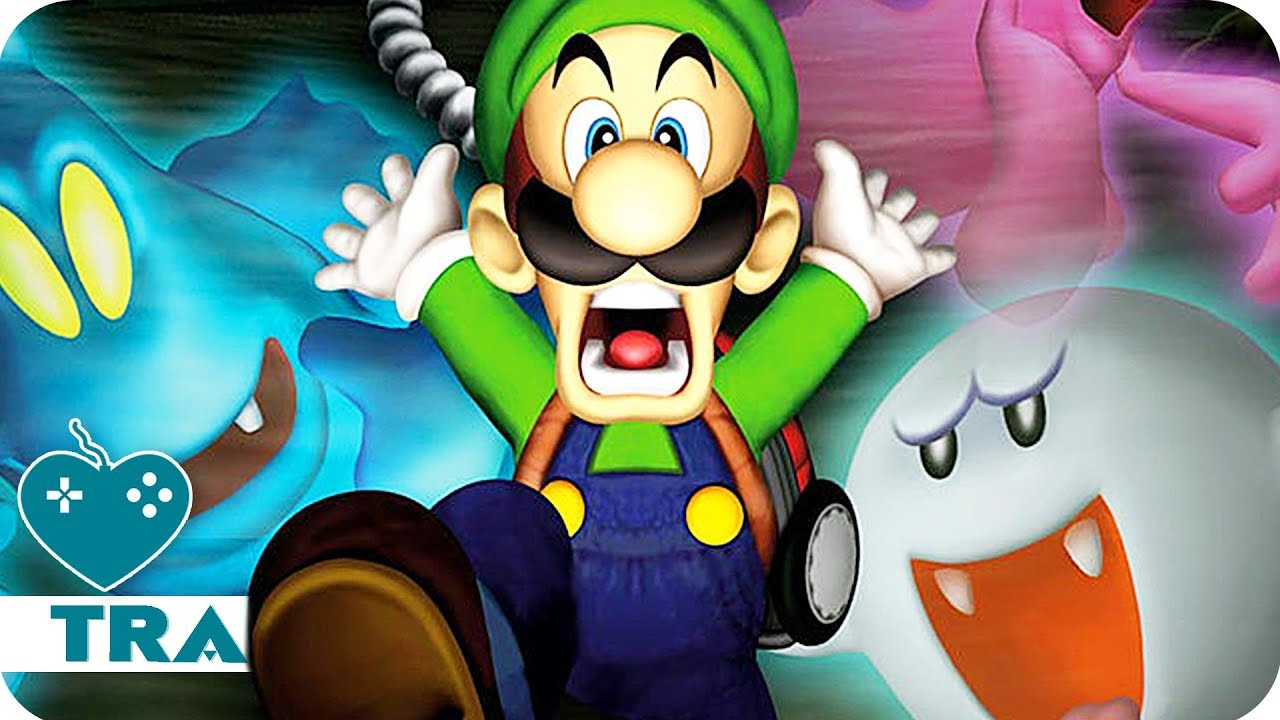 Luigi's Mansion 3DS Trailer (2018) 3DS Game - YouTube