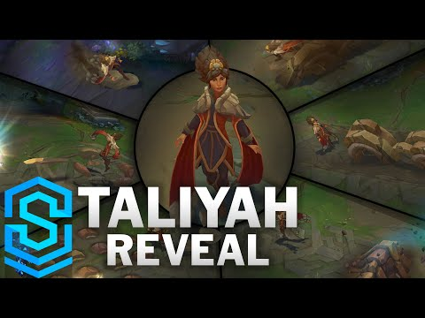 Taliyah Abilities - The Stoneweaver Reveal