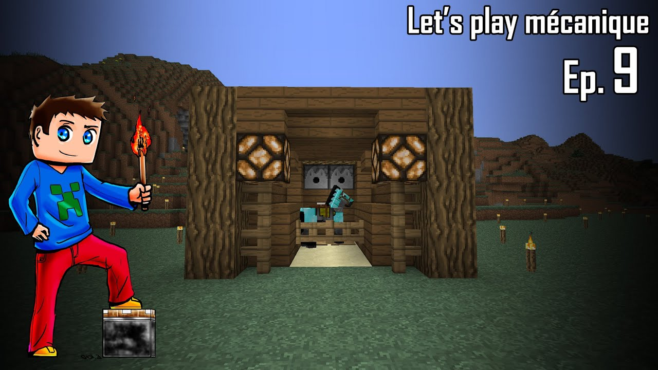 Let 39 s play m canique 2 0 ep 9 box cheval youtube - Cheval minecraft ...
