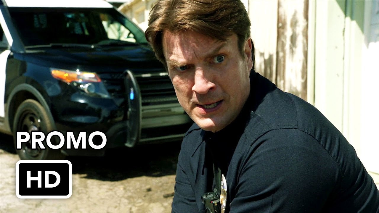 """Download The Rookie 1x02 Promo """"Crash Course"""" (HD) Nathan Fillion series"""