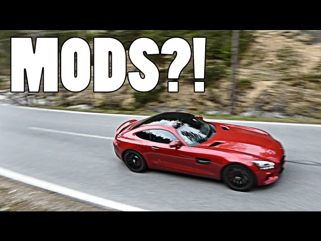 WHAT MODIFICATIONS ON MERCEDES AMG GTS?!